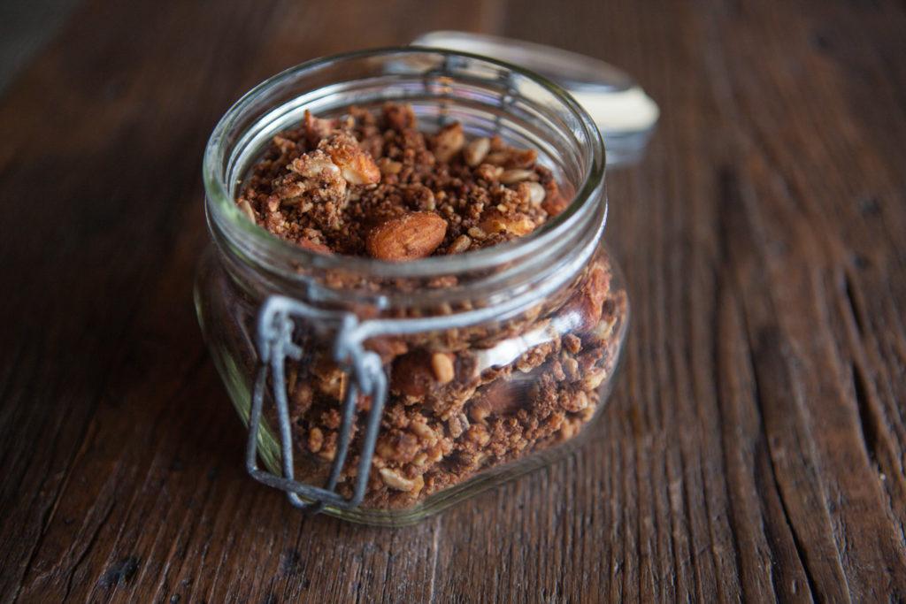 granola selber machen glutenfrei und vegan mehr gute zeit. Black Bedroom Furniture Sets. Home Design Ideas