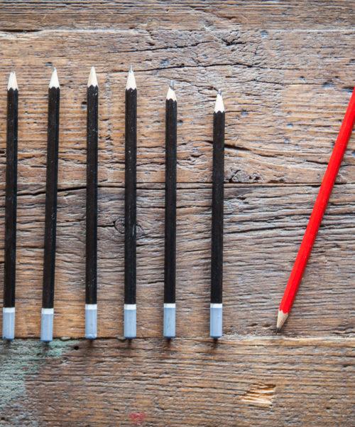 Sei der rote Bleistift - Loslegen ohne Perfektion