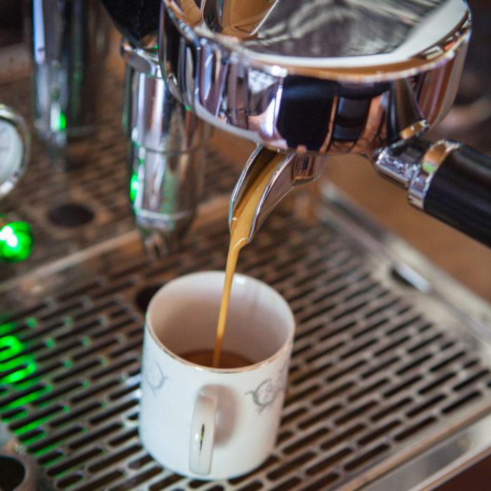Morgenroutine - unter anderem mit Espresso